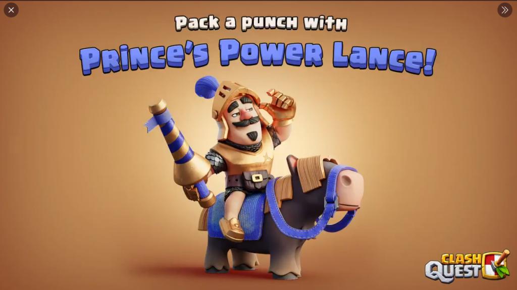 Prince's Power Lance